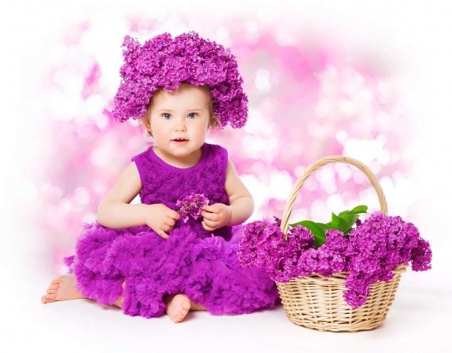 «Весеннее» занятие для малышей.