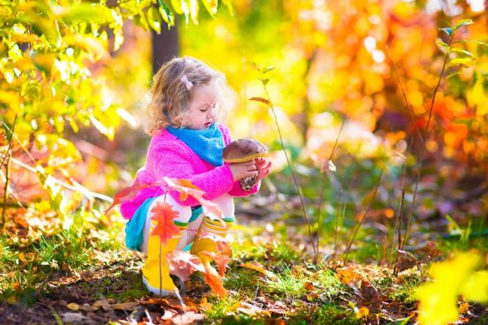 Игры для развития речи детей на тему осени