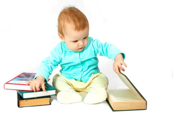 Первая книга малыша от 6 месяцев до 3 лет