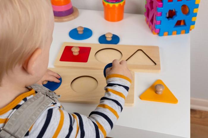 Рамки-вкладыши - игрушки для раннего развития